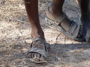 Afrika ist schwarz und arm. So meist unser Eindruck von diesem Kontinent; Foto: Dieter Schütz via Pixelio.de