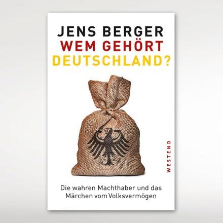 Conver des Buches von Jens Berger; Quelle: Westend Verlag
