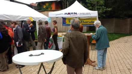 Über Tierschutz, vegetarische und vegane Produkte informierten Vereine.