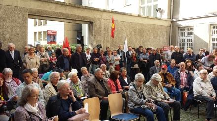 Die Gedenkveranstaltung zum Antikriegstag in Dortmund war gut besucht; Fotos: C. - D. Stille
