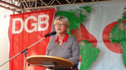 DGB-Vorsitzende Dortmund - Hellweg Jutta Reiter.