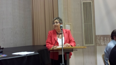 Landtagsabgeordnete Gerda Kieninger für die AWO: Alles Menschen gleich behandeln.