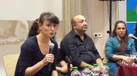 Sami Dzemailovski  (Bildmitte) hat sich nicht gleich als Roma geoutet.