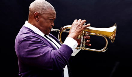 Hugh Masekela; Copyright: GRIOT GmbH.