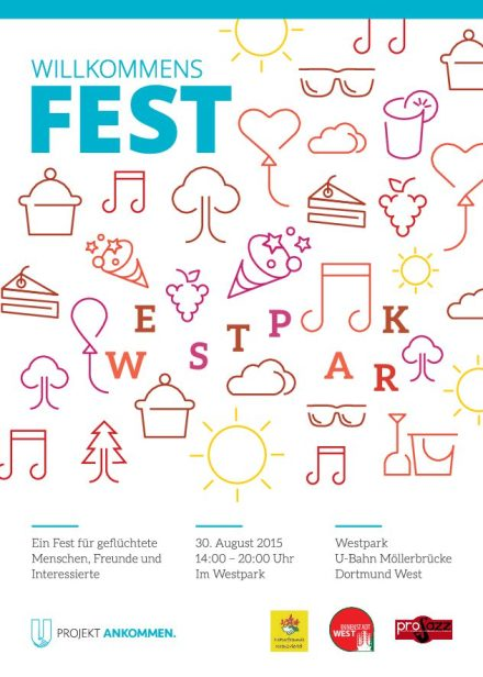 Flyer zum Fest; via Projekt Ankommen e.V.