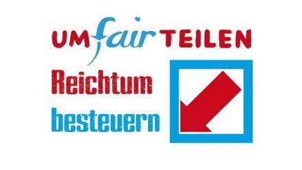 Logo Bündnis UMfairTeilen via Bündnis UMfairTEILEN Dortmund.