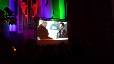 "Hauptkommissar ""Vollarschloch"" Faber ( Jörg Hartmann) und Kollegin Bönisch (Anna Schudt) in den ersten Filmminuten am Tatort."