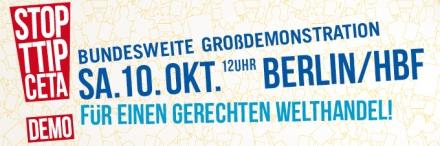 Logo zur Großdemo (via Campact)