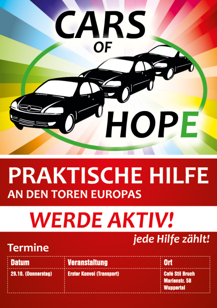 Cars of Hope hilft nicht das erste Mal.