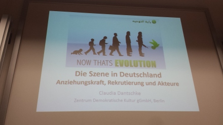 Evolution bis hin zum grünen Vogel.