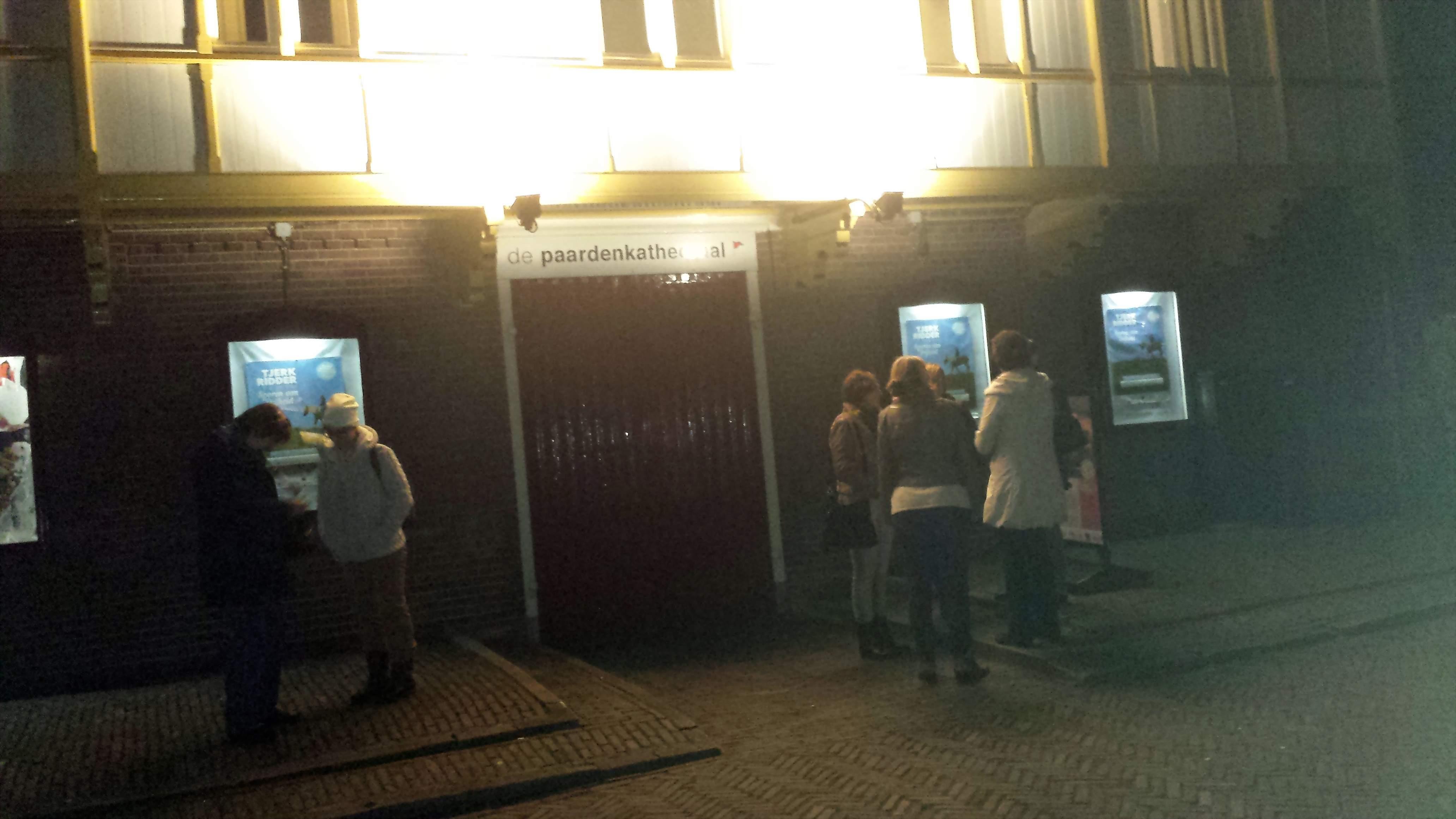 Der Eingang zum Theater De Paardenkathedraal in Utrecht; Photos: Claus Stille.