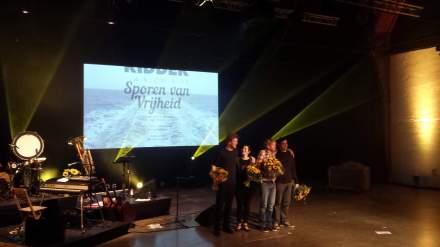 Die Band mit Tjerk Ridder. Verdienter Premierenapplaus.