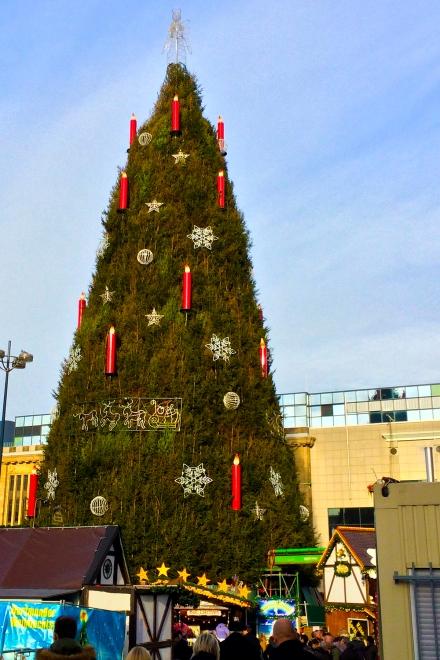 Dortmunder Weihnachtsbaum; Foto: Harald Schottner via Pixelio.de.