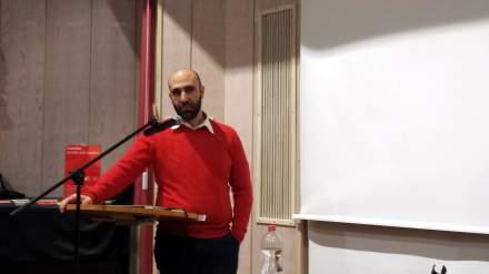 Referierte in Dortmund: Ahmad Mansour; Fotos: Claus Stille