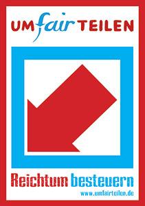Logo via Bündnis für UmFAIRteilen.