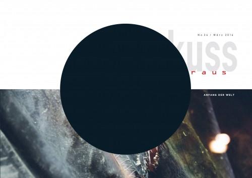 Cover des Ohrenkuss No 36; Foto:Hanna Witte, Grafik:Maya Hässig, Köln/Ohrenkuss.