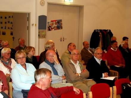 Das Publikum war sehr interessiert am Thema.