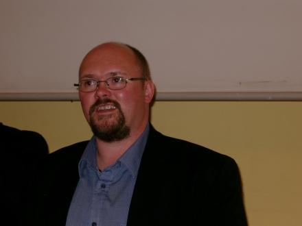 Ingo Meyer (Bündnis für Umfairteilen Dortmund) hielt das erste Input-Referat.