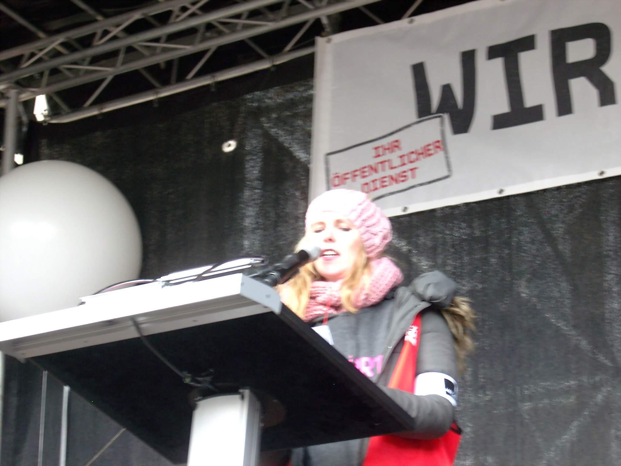 Sahra Maiwald, Betriebsrätin Klinikum Dortmund.