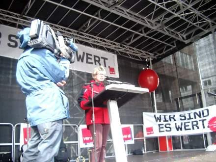 Jutta Reiter, DGB-Chefin Dortmund-Hellweg.