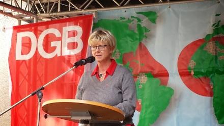 Die Dortmunder DGB-Vorsitzende Jutta Reiter; Archivbild: C.-D. Stille