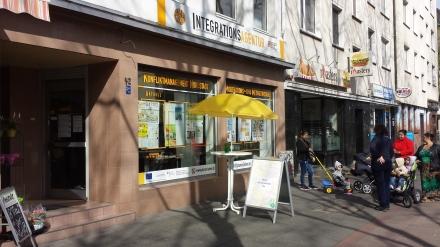 Auf der Dortmunder Schützenstraße hat die Integrationsagentur ihren Sitz.