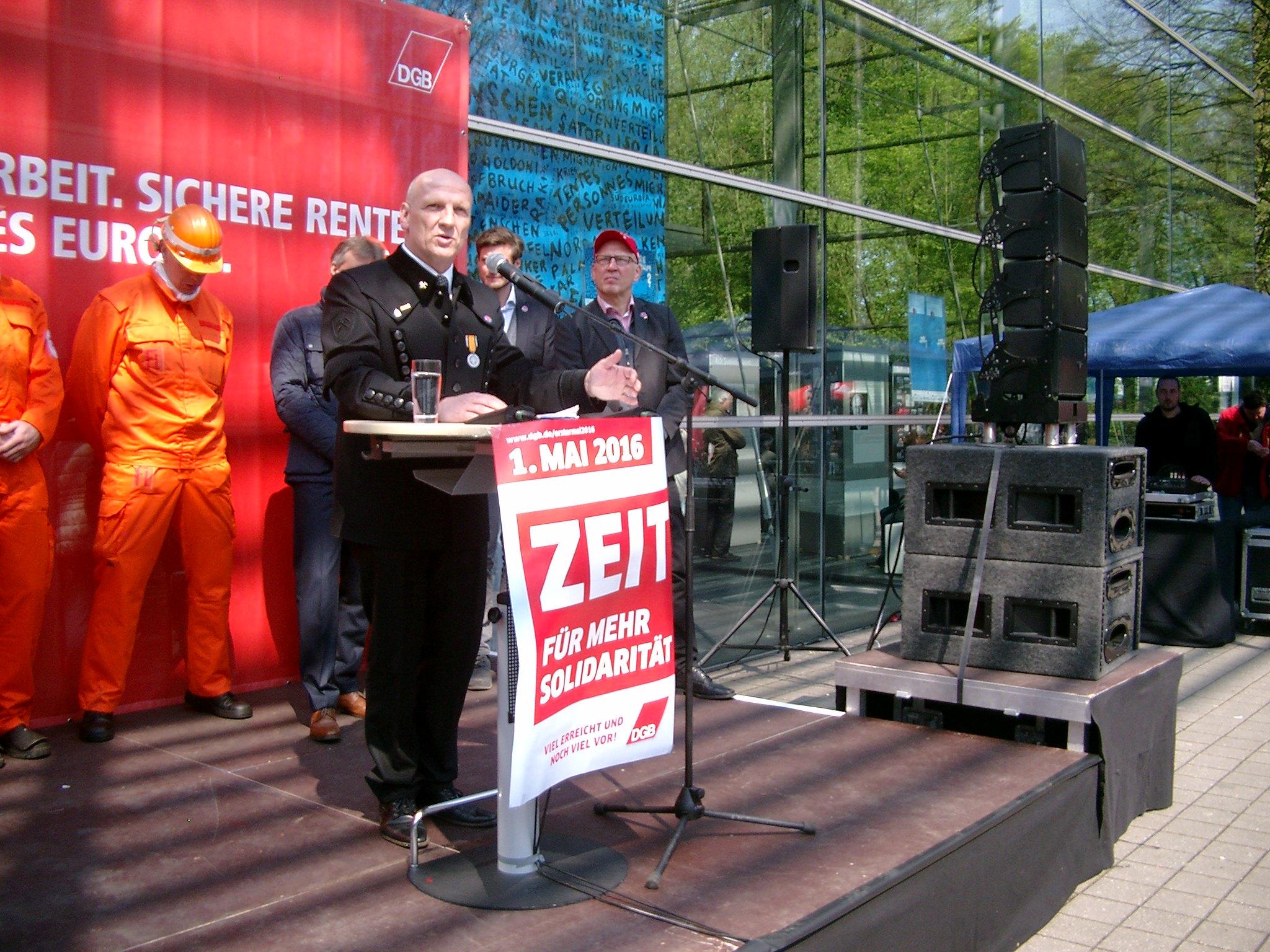 Gesamtbetriebsratsvorsitzender der RAG Deutsche Steinkohle, Norbert Maus.