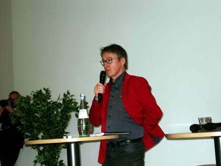 Einleitende Worte von Ruhrfestspielintendant Dr. Frank Hoffmann; Fotos: C.-D. Stille
