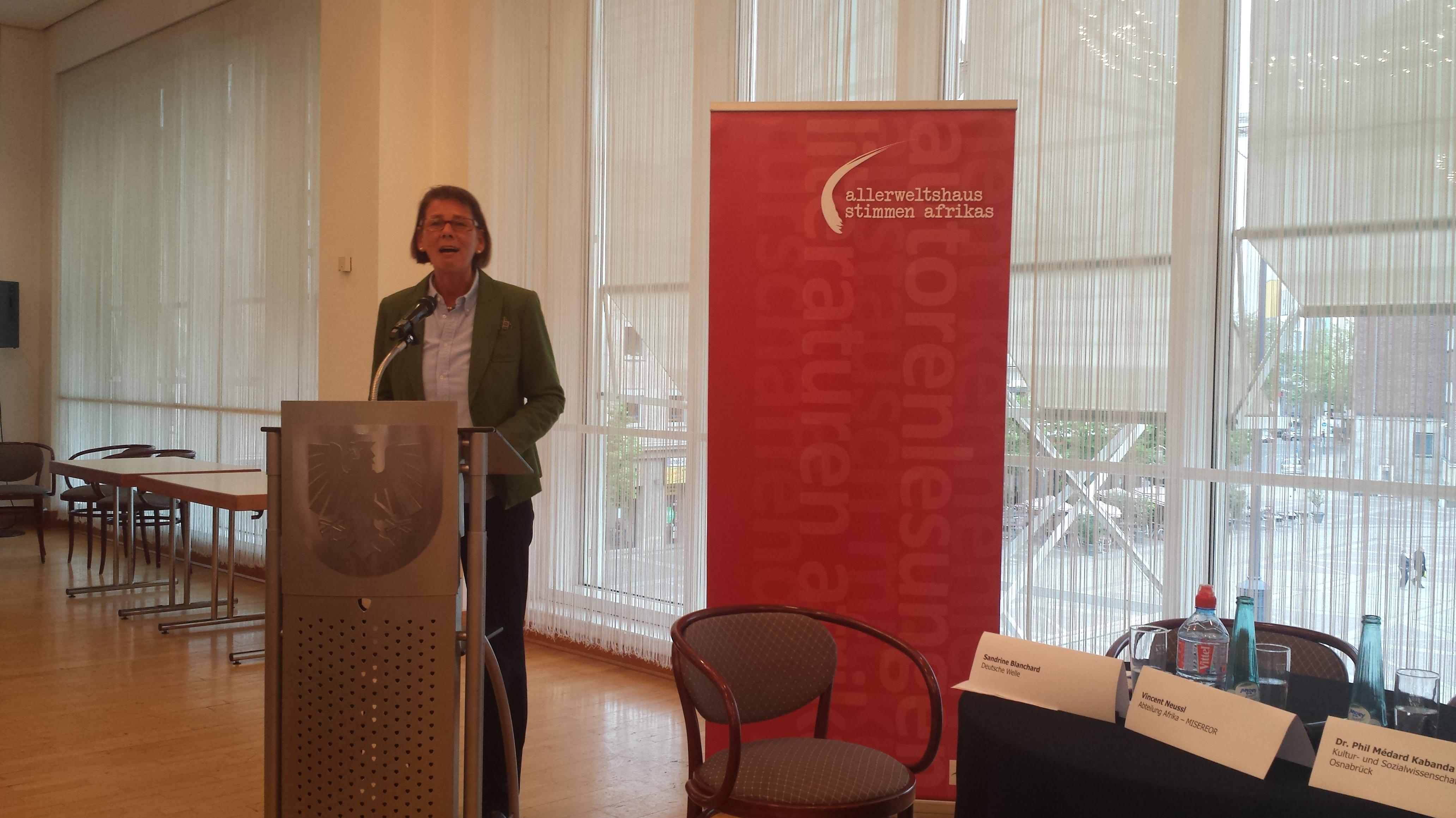 Begrüßt die Gäste: Bürgermeisterin Birgit Jörder.