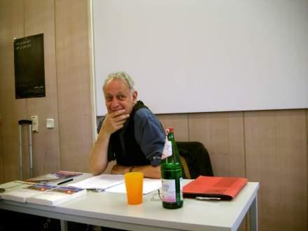 Dr. Winfried Wolf nach seinem Vortrag in Dortmund; Fotos: C.-D. Stille