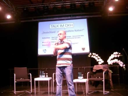 """Sorgte für Unterhaltung: Kabarettist Ilhan Atasoy (""""Der König vom Borsigplatz"""")"""