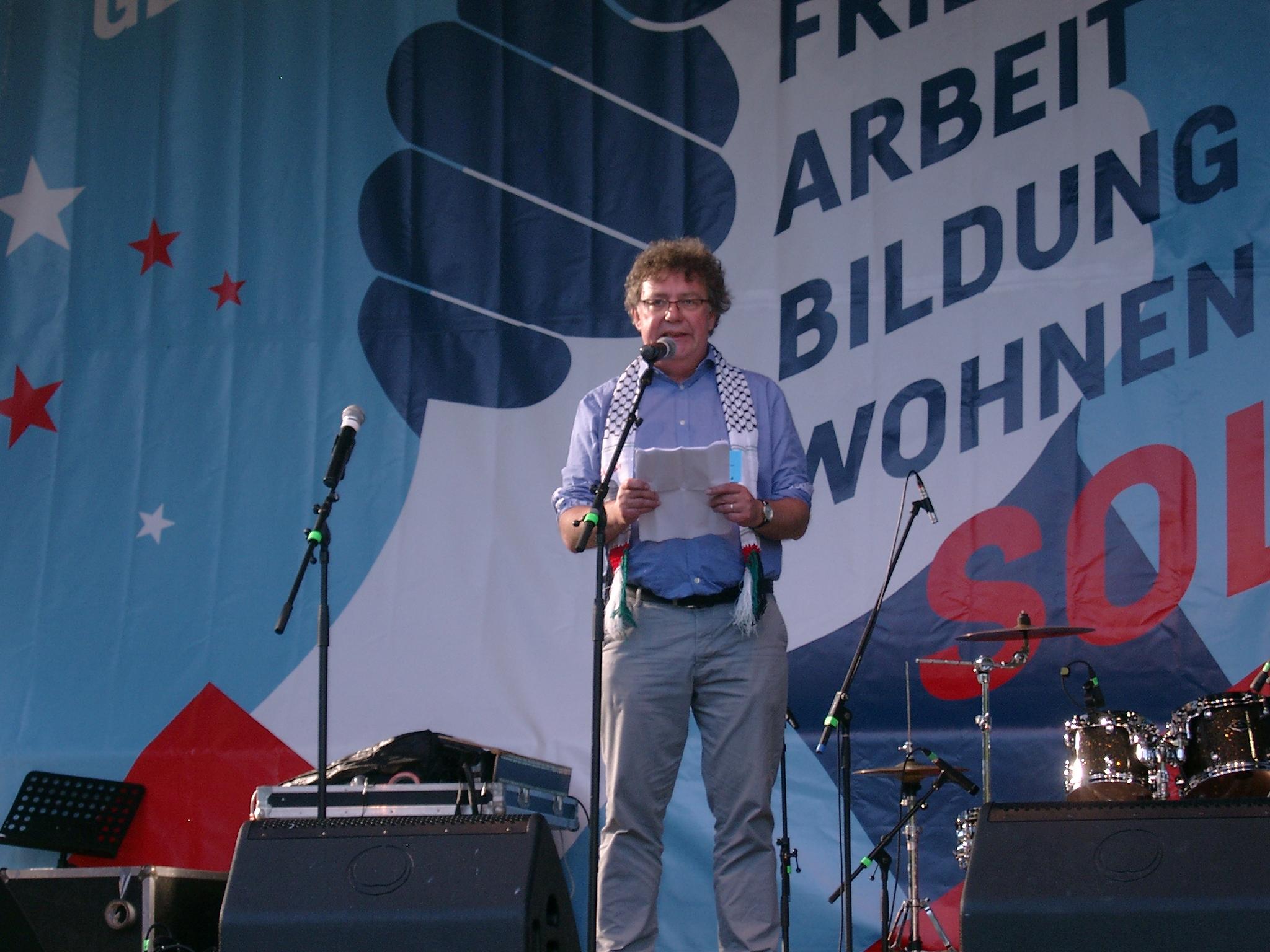 Der Vorsitzende der DKP, Patrik Köbele.