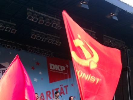 U.a. mit dabei, die Kommunistische Partei der Türkei.