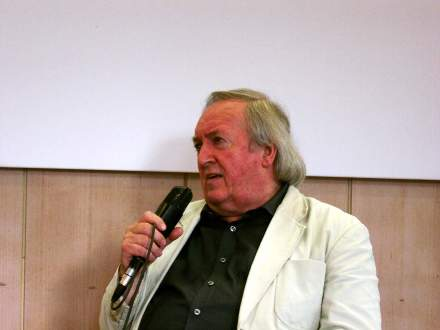 Der Filmemacher Frieder F. Wagner. Fotos: C.-D.Stille