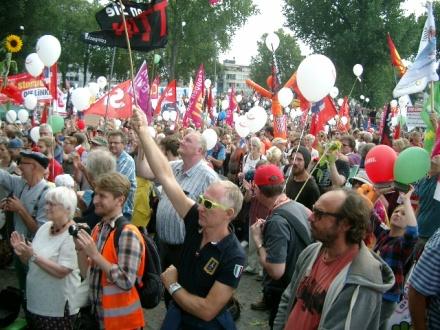 55.000 waren in Köln dabei.