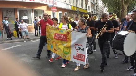 Die Balkan Brass Band war gut aufgelegt.