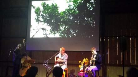 Musizierten brillant: Konrad Koselleck, Tjerk Ridder und Jochem Braat (v.ln.r). Fotos: C.-D. Stille