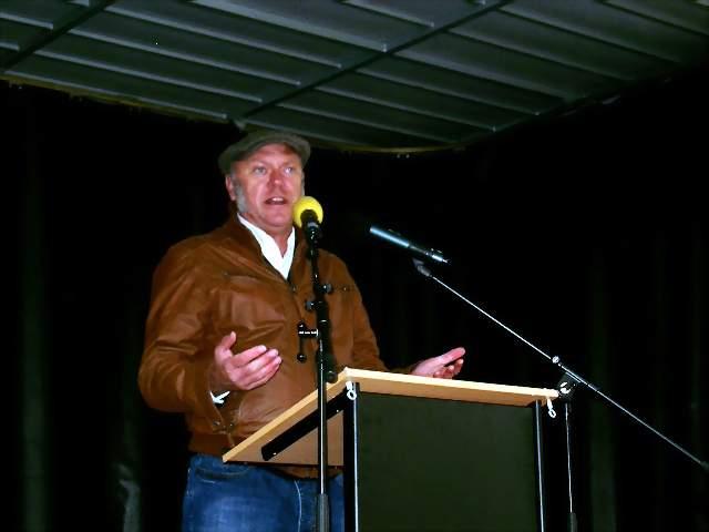 Auf beiden Veranstaltungen in Dortmund zu Gast: Dr. Ulrich Schneider vom Paritätischen. Fotos: C.-D. Stille