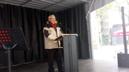 Reinhold Dege vom Gast-Haus.