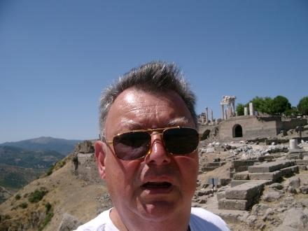 """""""Selfie"""" in Bergama; Foto: Stille"""