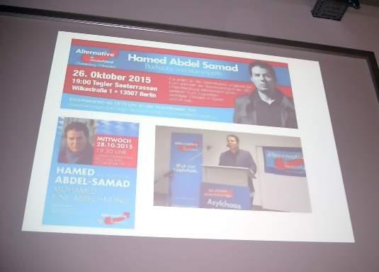 """""""Islamkritiker"""" Hamed Abdel-Samad redete bei AfD-Veranstaltungen."""