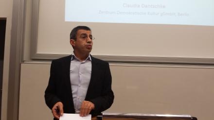 Prof. Dr. Ahmet Toprak, Intiator der Vortrragsreihe, wird morgen moderieren. Foto: C.-D. Stille