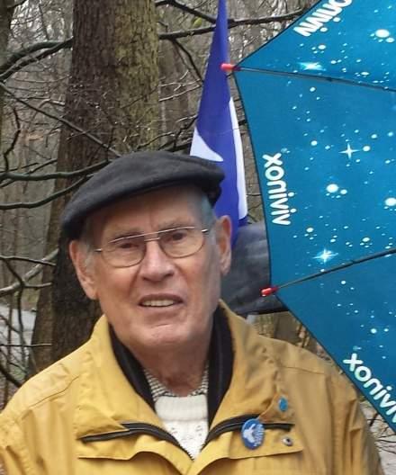 Willi Hoffmeister auf dem Weg zum Gedenken am Karfreitag in die Bittermark. Foto: Stille