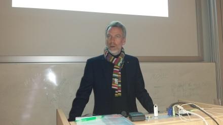Prorektor Prof. Dr. Helmut Hachul.