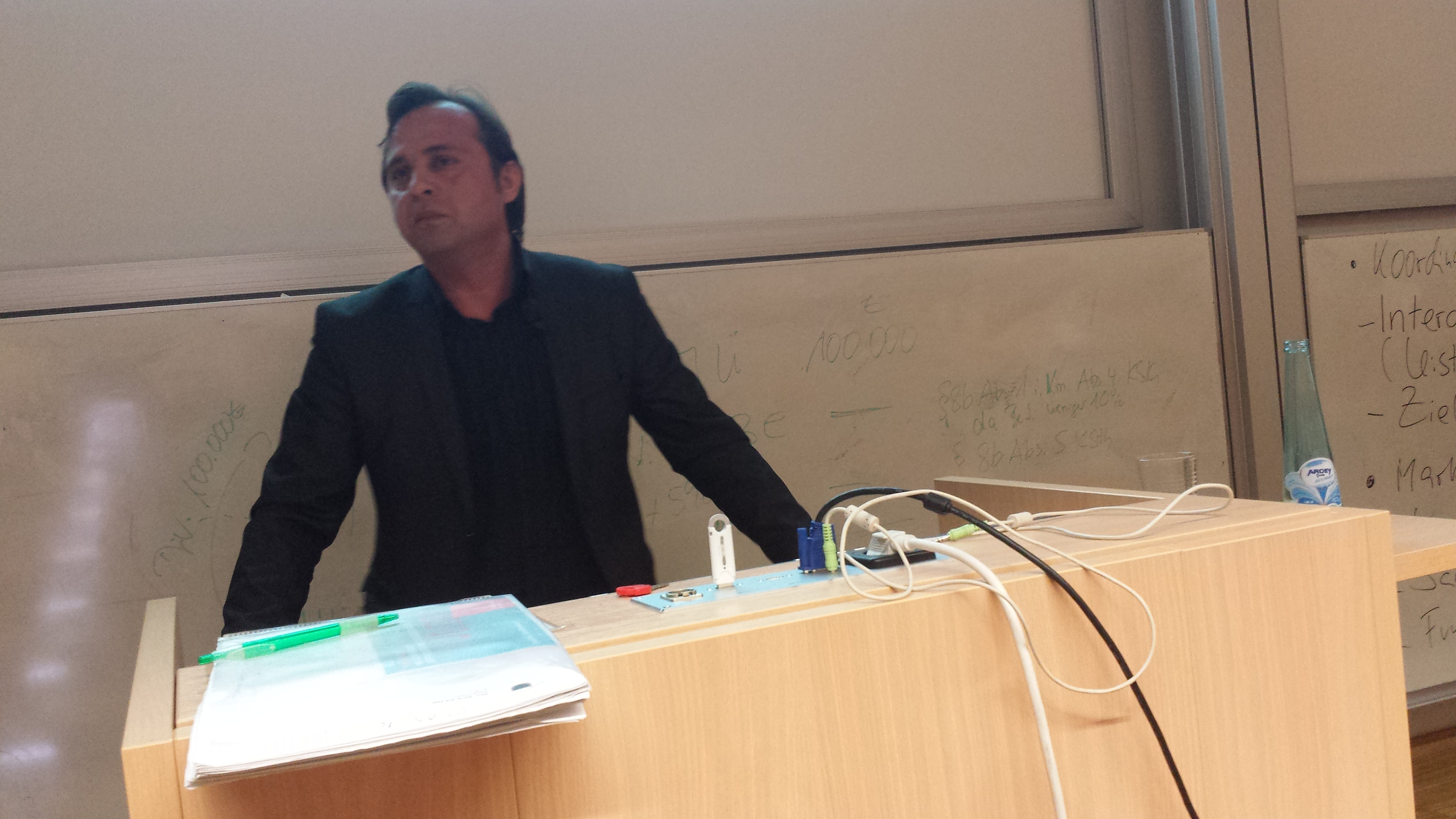 """Levent Arslan: """"Die Würde des Menschen ist unantastabar."""""""