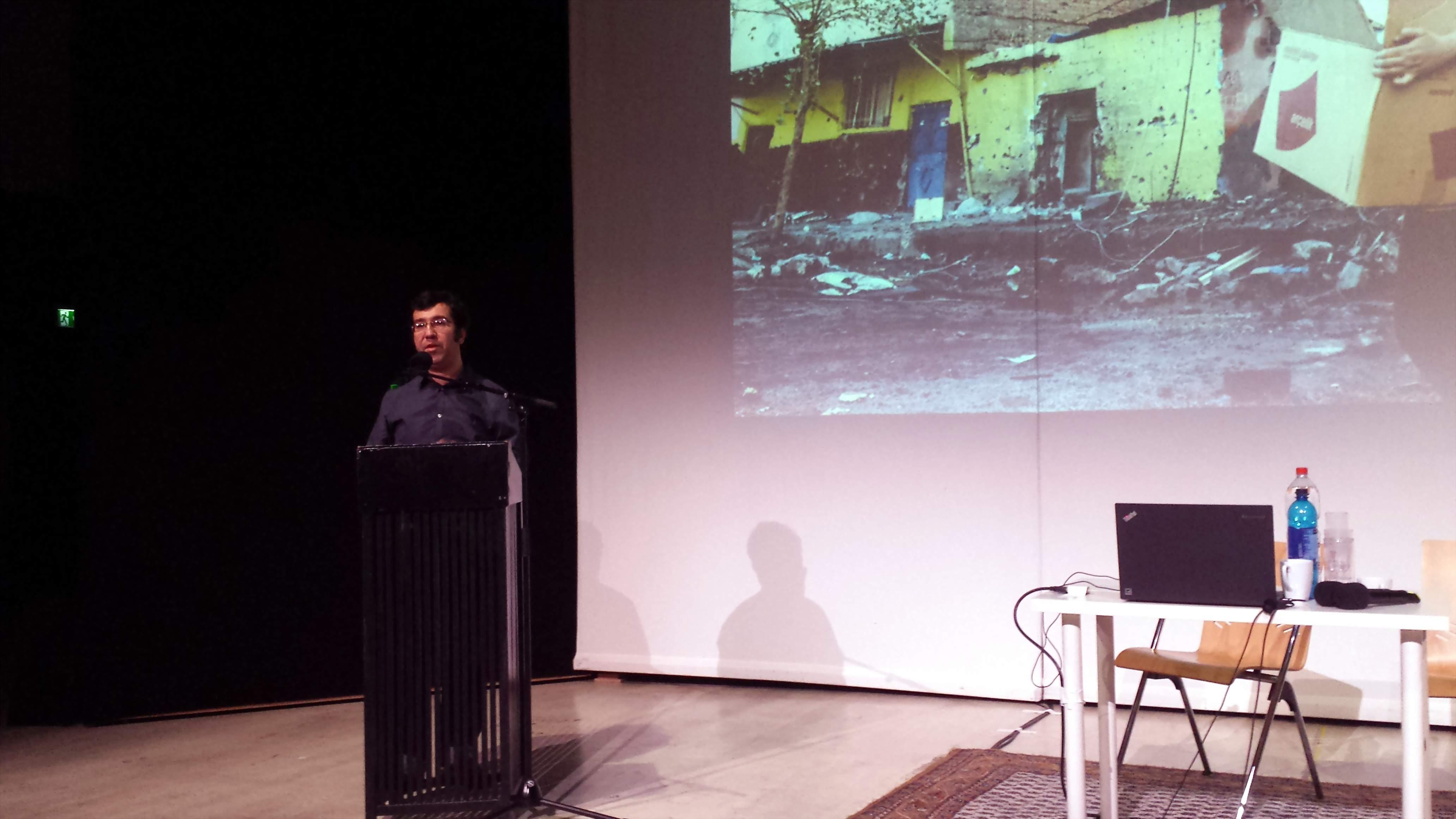 Ismail Küpeli. Foto: Stille