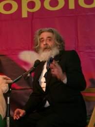 Marx-Darsteller auf dem vorletzten DKP-Pressefest in Dortmund. Foto: Stille